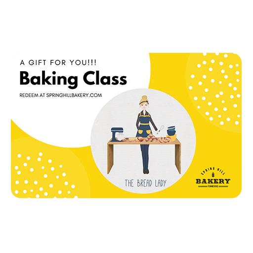 baking class gift card shb