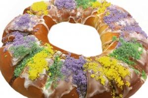 King Cake class baking bread lady shb