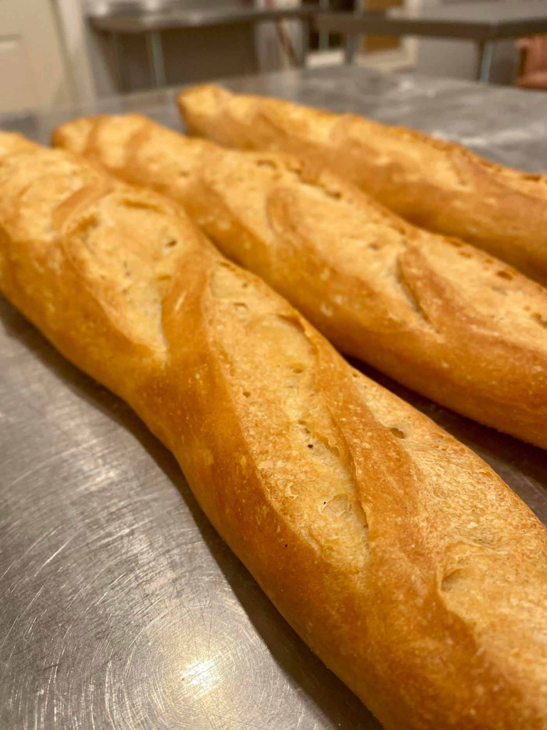 Learn to make baguettes in artisan bread class