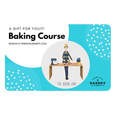 baking course gift card shb