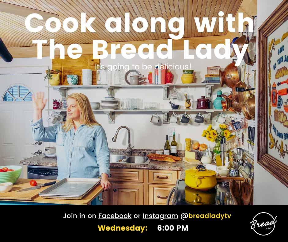 bread lady tv cook bake sarah shb