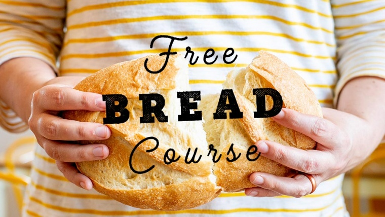 free artisan bread making course how to